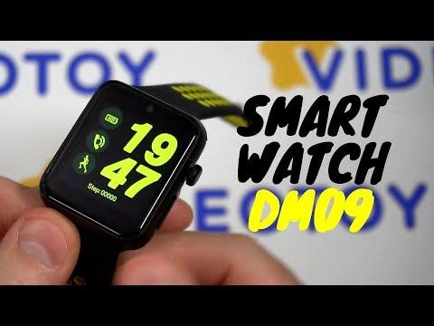 Умные часы Smart Watch DM09 - обзор смарт часов с сим картой - альтернатива Smartwatch IWO 2 0+