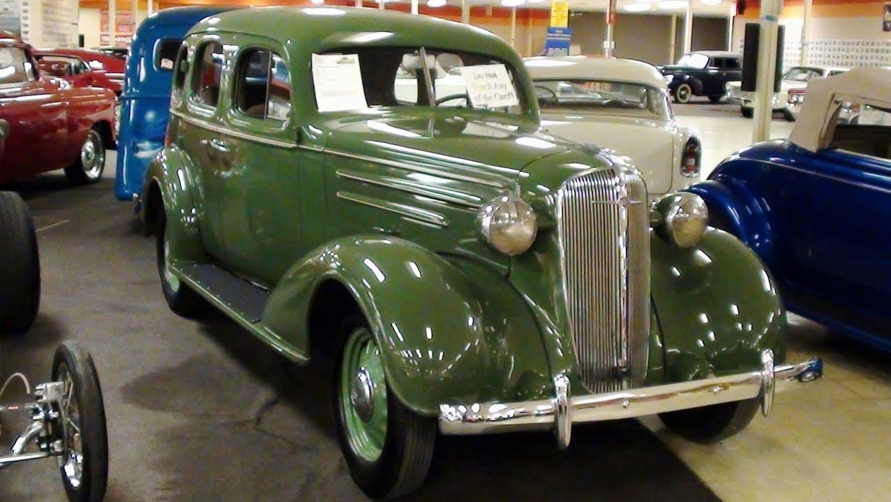1936 Chevrolet Standard Sedan 216 Stovebolt Six Youtube