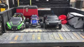 Traxxas RC Cars Kuwait Desert Off-road Ford Raptor 2wd Rally Car 4x4 60+ mph Bashing Jumps Adventure
