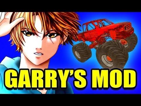 Gmod MONSTER TRUCK Vehicle Mod! (Garry's Mod)