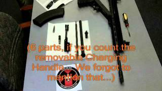 Disassemble- Reassemble M10X™ Elite Rifle