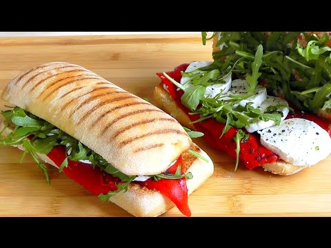 How to make a Panini easy recipe Snack Food