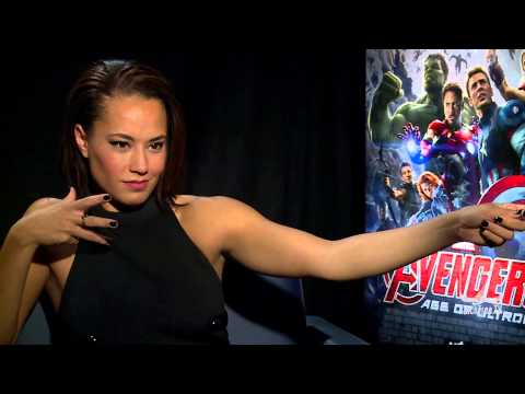 AVENGERS: AGE OF ULTRON Jeremy Renner & Cobie Smulders Interview