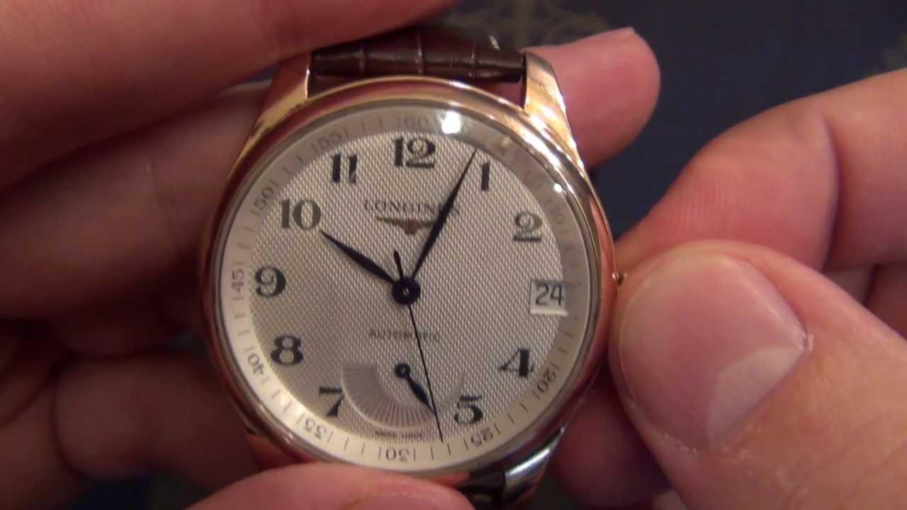 парфюмерное часы longines master collection видео еще