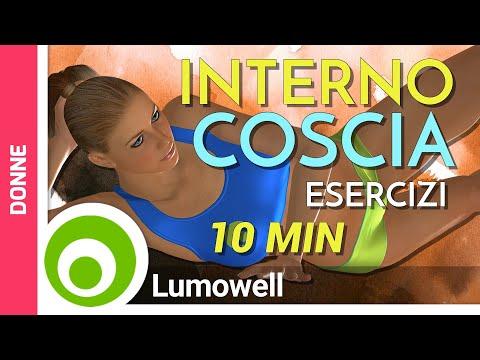 allenamento interno coscia
