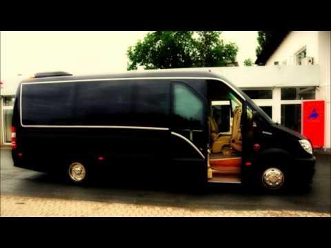 Mercedes Sprinter Volkswagen Crafter Van Conversion VIP Design - YouTube