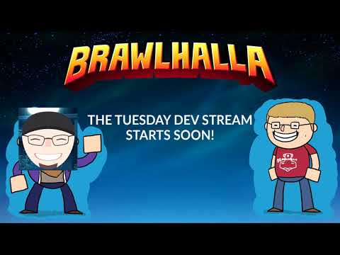Tuesday hybrid stream! Leaks + esports! - Nob 28 Brawlhalla Dev Stream