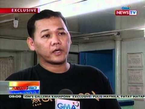 NTG: EXCLUSIVE: Pulis-Maynila, patay matapos umanong aksidenteng mabaril ang sarili (033012)