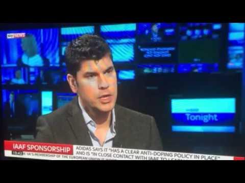 Rod Kohler - Sky News interview on Adidas sponsorship withdrawal - 25.01.16