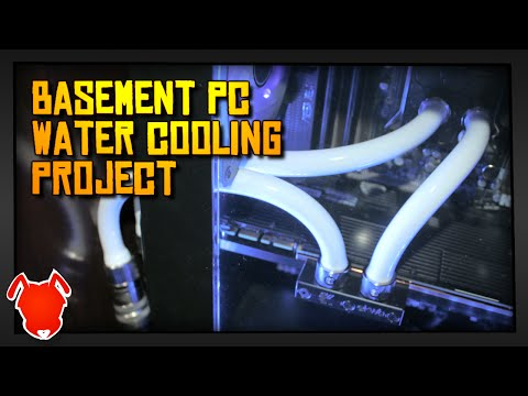 ANTVENOM   The Basement PC Water Cooling Project!