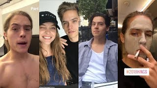 Dylan Sprouse Instagram Stories / March-August 2018