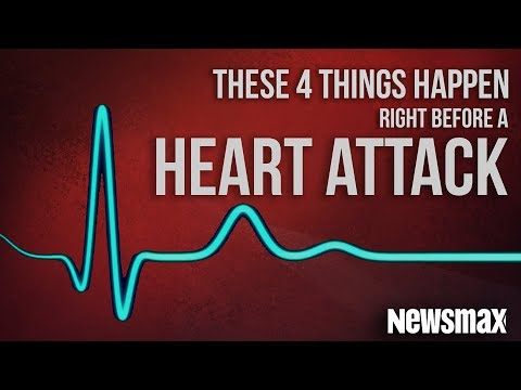 These 4 Things Happen Right Before A Heart Attack