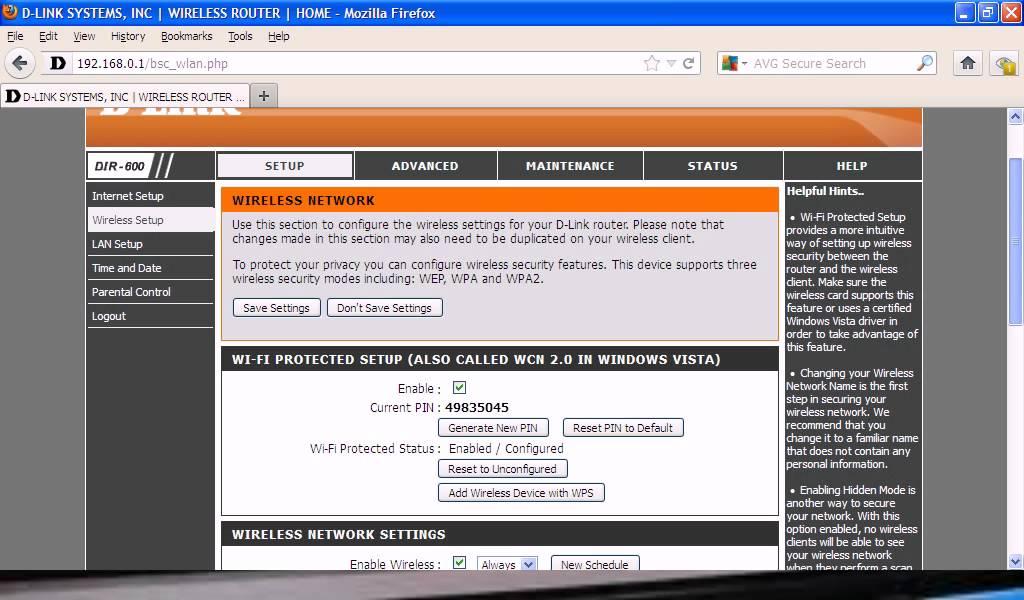 COMO CAMBIAR EL NOMBRE O LA CLAVE DE EL MODEM D-LINK (MEGACABLE