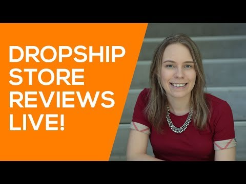Reviewing Dropshipping Stores LIVE! (Aliexpress Dropshipping Store Mistakes)