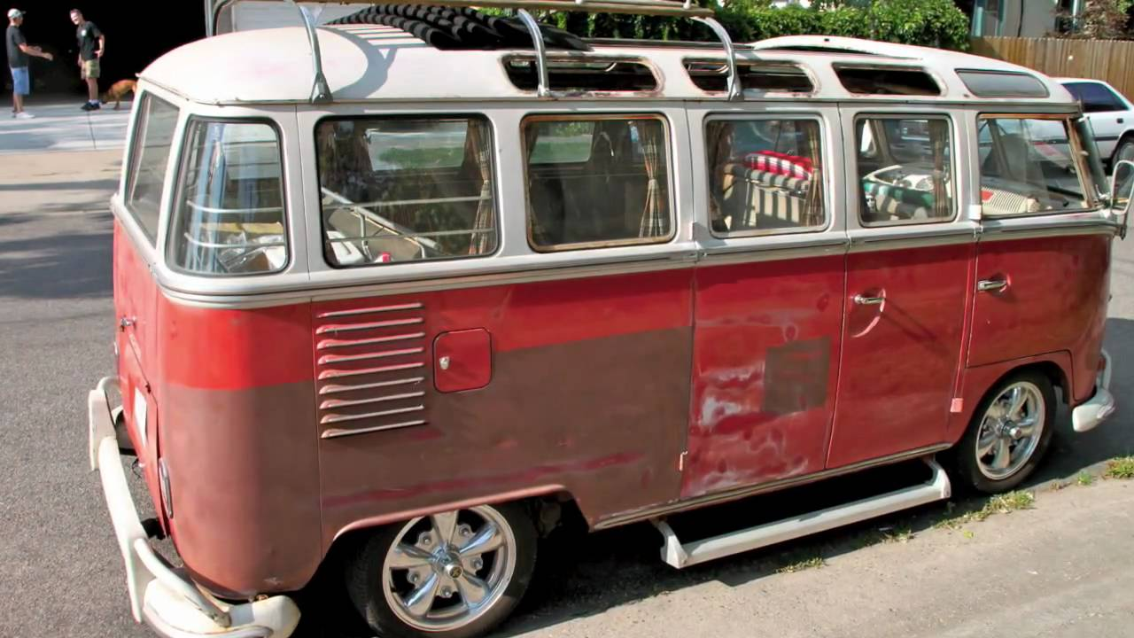 23 window bus youtube for 16 window vw van