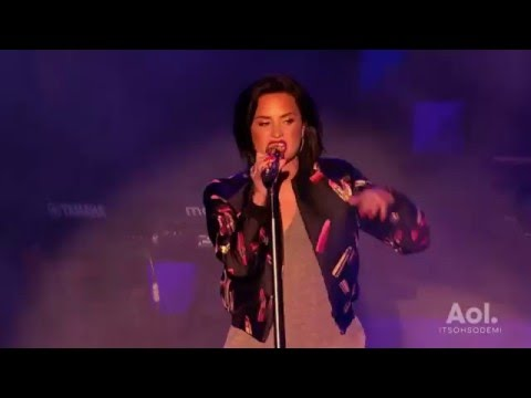 Demi Lovato's full performance at AOL Access in New York - May 3rd