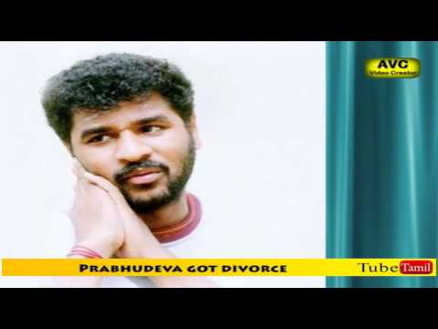 Prabhudeva got divorce