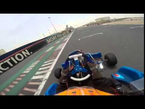 having some fun with my new energy kart (DUBAI KARTDROME)(1)