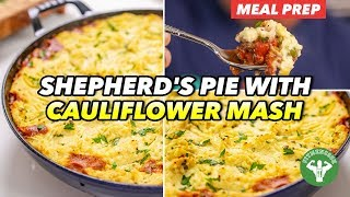 Meatless Monday - Vegan Shepherd's Pie with Cauliflower Mash