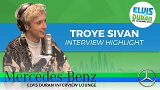Download Lagu Why Troye Sivan Freaked Out Before His SNL Performance | Elvis Duran Interview Highlight Gratis STAFABAND