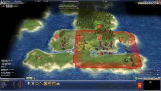 Civilization 4 (Rhye's and Fall: Dawn of Civilization - England) (1) - Anglo-Saxons!