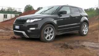 Range Rover Evoque: prova in fuoristrada / off road test