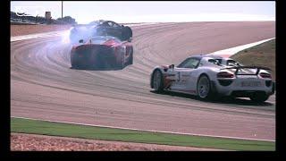 Chris Harris on Cars - LaFerrari v Porsche 918 v McLaren P1 at Portimao.