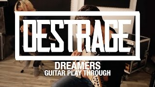 DESTRAGE Di Gioia and Ralph Salati - Dreamers (Guitar playthrough)