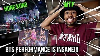 Bts Idol Ft Nicki Minaj 2018 Mama In Hong Kong Performance Reaction