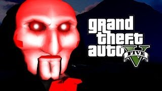 Creepy MURDERER IN GTA V (GTA 5 Trolling reactions)