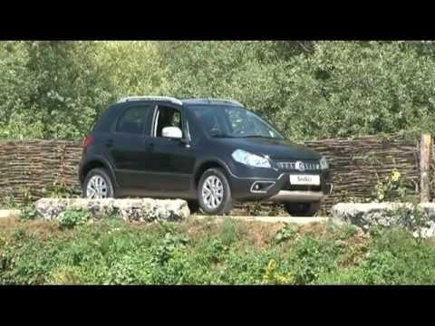 FIAT Sedici 2012, тест-драйв