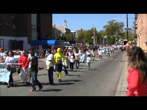 Highlights of the 2013 Elizabeth (NJ) Excellence Parade - May 5, 2013