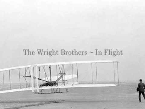The Wright Brothers In Flight