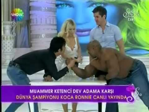 Ronnie Coleman Live in Istanbul on Seda Sayan Show 26.April 2011 PartII