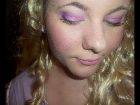 TUTORIAL - Disney Princess Tangled Rapunzel Makeup