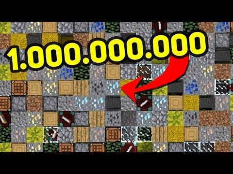 САМЫЙ ДОРОГОЙ МИР В МАЙНКРАФТЕ, БЛОКИ НА СУММУ В 1.000.000.000.000