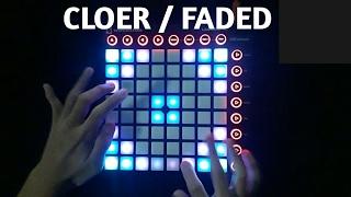 download lagu Faded Vs. Closer Mashup  Launchpad Mk2 Cover gratis