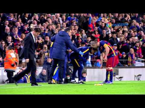 Luis Enrique during FC Barcelona vs Celta