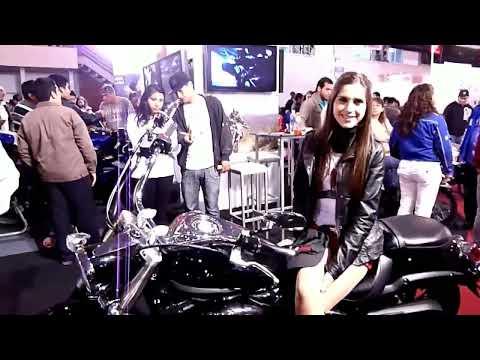 EXPOMOTO 2012 promotoras y motos