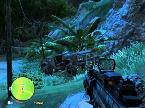 Far Cry 3 - Intel HD 2000 - Fraps Recording