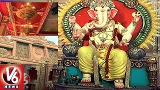 Special Story On Koti Marwadi Ganesh Mandap Decoration | Hyderabad