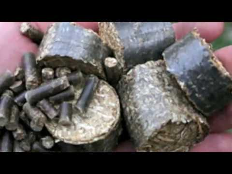 Make wood pellets from Biomass materails (Free Heat)