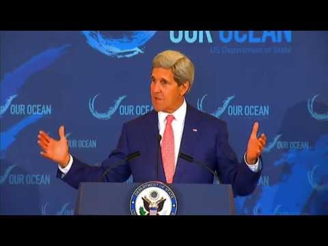 Secretary Kerry and Prince Albert II of Monaco Deliver Remarks During the Our Ocean Conference