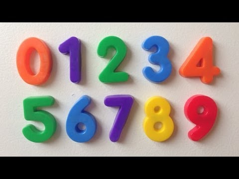 Learning Numbers 1-20 for Children in English.