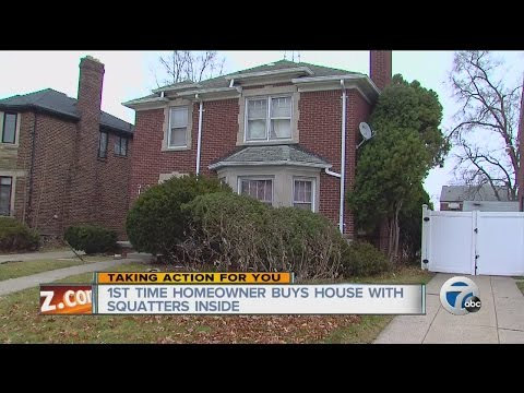 Homeowner frustrated over squatters