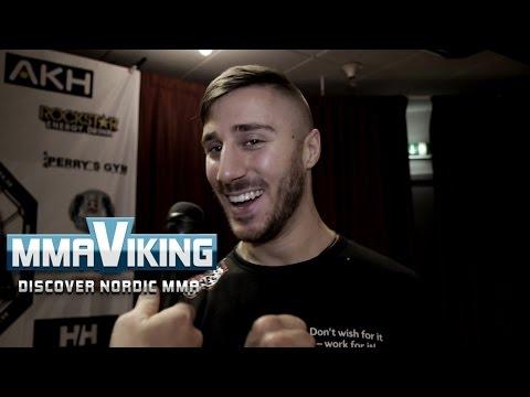 Daniel Teymur IRFA 7 Pre Fight Interview