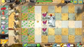 E.M.Peach can stop Treasure Yeti - Plants Vs. Zombies 2: It