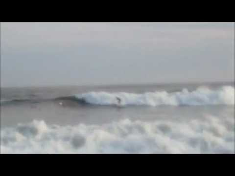 Hurricane Irene Waves - Surf Highlights - Long Beach, NY - August 26, 2011