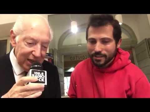 Il Principe Giovannelli canta Ivano Fossati al Karaoke Rock Bike di Radio Rock