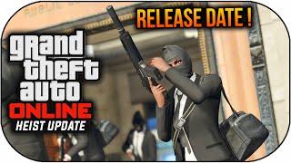 GTA 5 Heist Release Date Confirmed - GTA 5 Online Heist Update Release Info (GTA 5 Heist DLC)